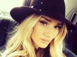 超模罗茜•汉丁顿·惠特莉instagram十大美照