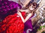 Fate远坂凛十周年礼服COS 大小姐美艳动人图片