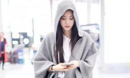 选对灰色系 你也能比戚薇何穗穿的更高级|何穗|戚薇|灰色