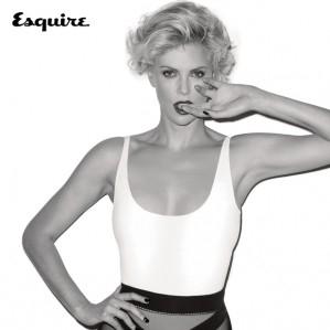 奥斯卡影后查理兹·塞隆登《Esquire》封面