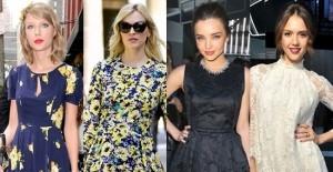 谁说明星只穿高级时装 她们的衣橱里也有高街品牌【图】