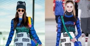 张雨绮开启纽约时装周旅程 机场潮装街拍【图】