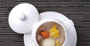 白果炖鸡 养身补汤