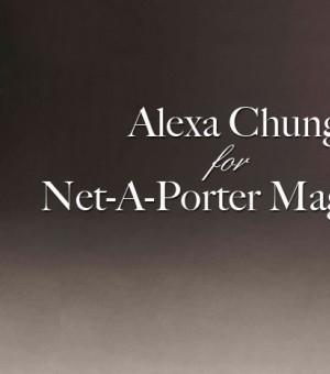 Alexa Chung时装大片