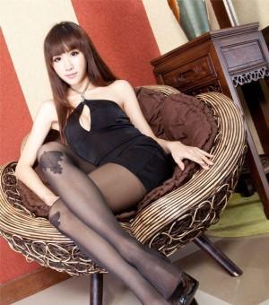 Beautyleg Dora 黑丝黑裙秀美腿