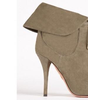 奥利维亚·巴勒莫与Aquazzura合作鞋款曝光