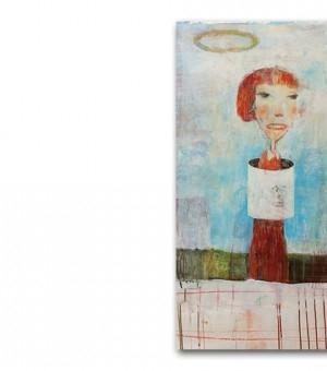 奈良美智发布最新作品集《Drawings1984-2013》